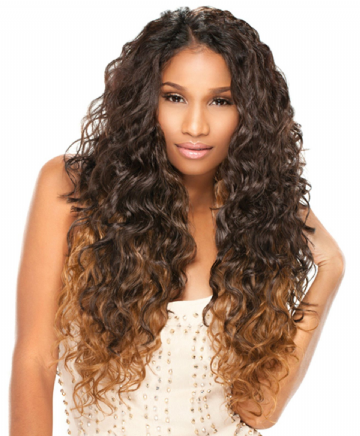 "NATURAL CURLY - KANUBIA  EASY5 BRAZILIAN STYLE   4PCS 18"" 20"" 22"" + CLOSURE"